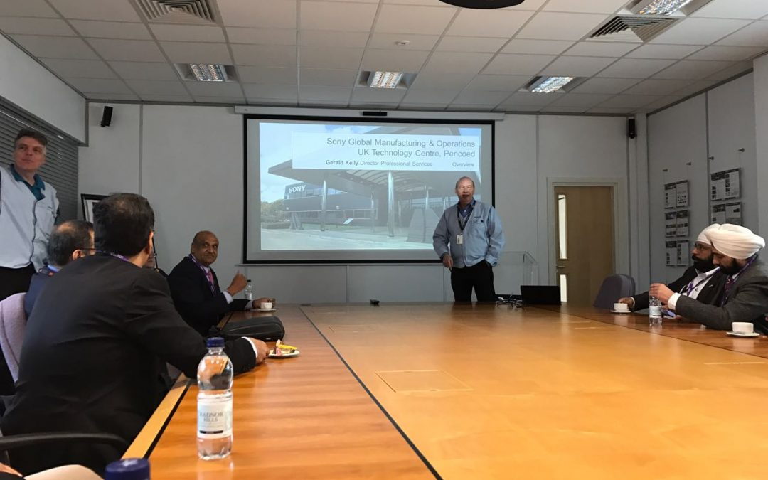 Megrisoft At Cardiff For Third Day Event Of IT Mission To UK 2017